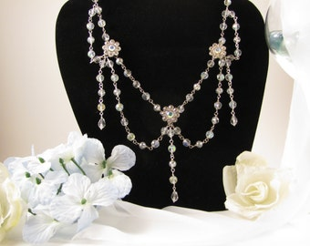 Gorgeous Beaded Crystal Necklace