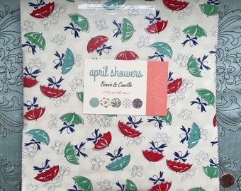 April Showers by Bonnie and Camille for Moda Fabrics - Layer Cake -  OOP