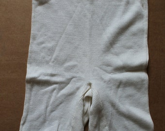 Soviet Time Vintage Underwear, Brand NEW Ladies Cotton Knickers with Factory Tag Soviet Underpants Made in USSR, 1970-s