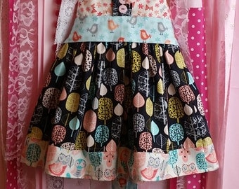 Acorn Forest Boutique Style Twirl Dress Matilda Jane Persnickety Inspired