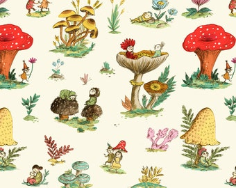 Mushroom Fairies Wrapping Paper // Set of 3 sheets