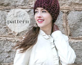Crochet Beanie Pattern // Beginner Crochet Pattern // Chunky Hat Pattern // Crochet Gifts