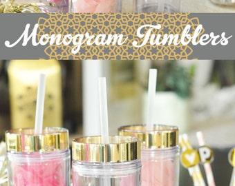... sorority sister gift for sisters sorority monogram decal cup eb3113 14