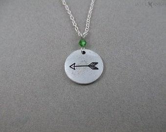 Arrow Charm Necklace