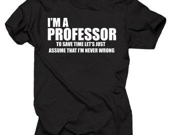 Professor T-Shirt Gift For Professor Occupation Tee Shirt