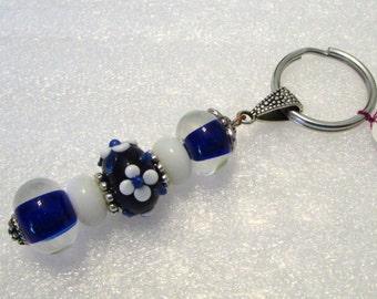 1032 - Beaded Key Ring