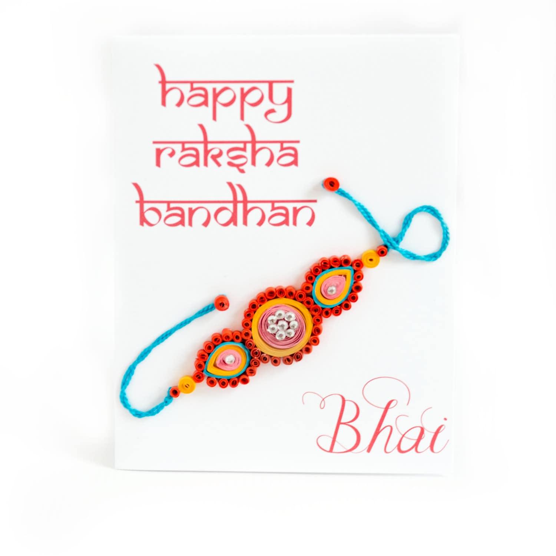 Rakhi card raksha bandhan card card for bhai card for zoom kristyandbryce Choice Image