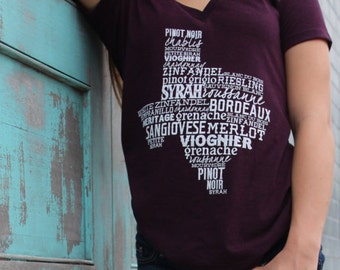 Texas Wine T-shirt COPYRIGHTED do not duplicate