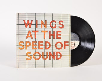 "WINGS - ""At the Speed of Sound"" vinyl record"