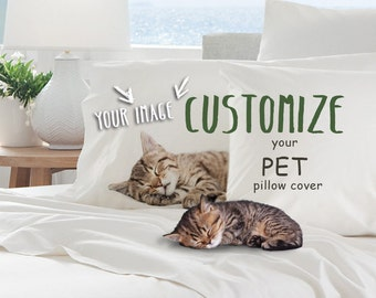Personal Printed Standard/Queen Sized Pillow Case with your design, Personal print, Personal image, Custom Image, Custom pillow cover