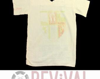 Vintage Flour Sack Shirt ~ Size XS-S