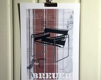 Breuer (Wassily Chair) - Print