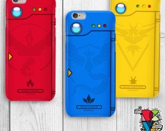 Pokedex Phone Case | Pokemon Go Phone Case | Pokemon Phone Case | Team Valor | Team Mystic | Team Instinct | iPhone and Galaxy Cases