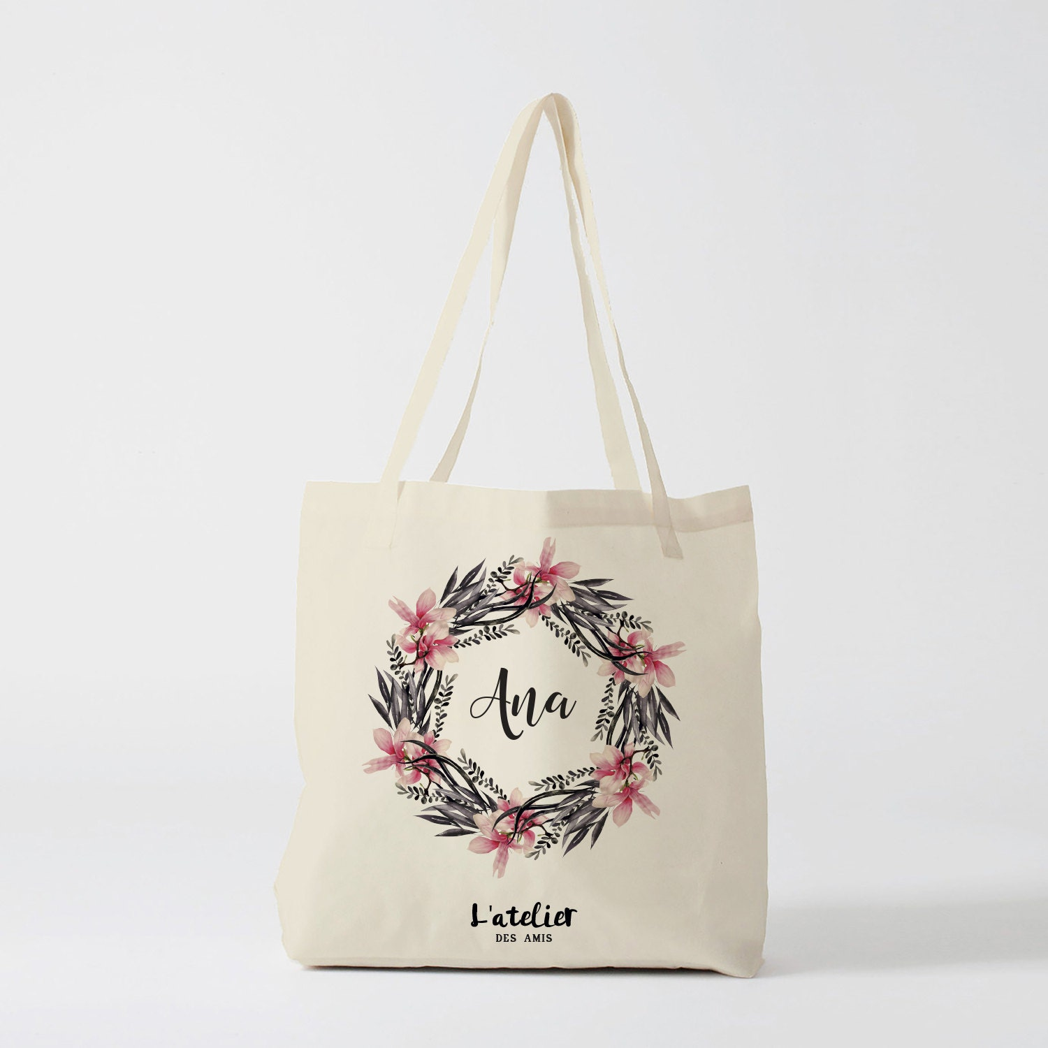 Tote bag custom wedding Bridesmaid bags Wedding Bags Bridal