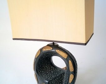 1950 FAIP TABLE LAMP  in the style  of Frederic Weinberg