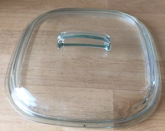 "CorningWare/Pyrex Lid for Simply Lite 2-1/2 Quart Square Baking Dish, 9-1/2"" x 9-1/2"", 680C"