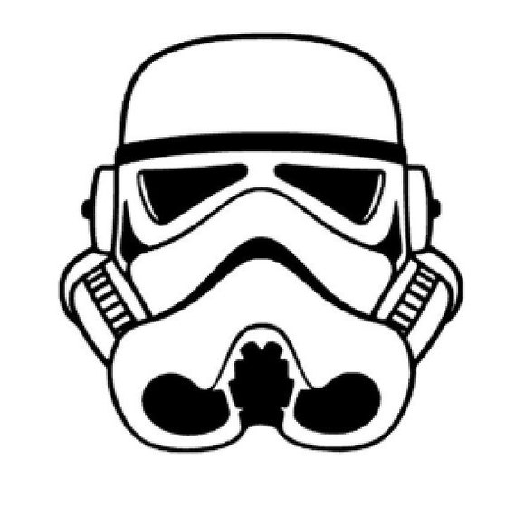SVG DXF STUDIO Star Wars Storm Trooper Scalable by ...