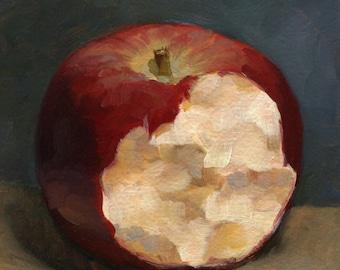 Apple Oil Painting