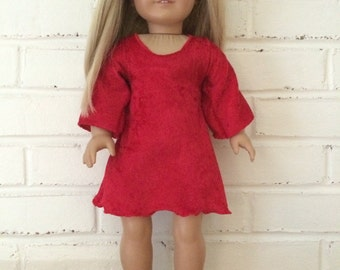 American Girl Doll clothing - Holiday Dress