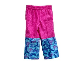 Pink Butterfly Toddler pants