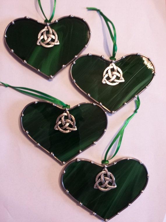 Wedding Favors Celtic Knot Heart Saint By Lolashiddentreasures