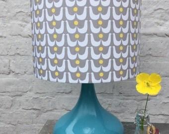 Scandi Birds Fabric covered lampshade