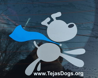 Tejas Dogs, Inc. Vinyl Decal