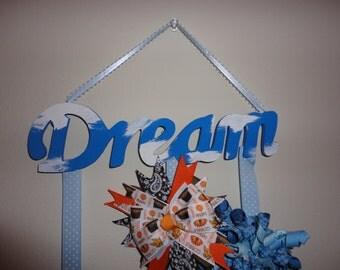 Dream Hair Bow Holder/Hair Clip and Barrette Holder