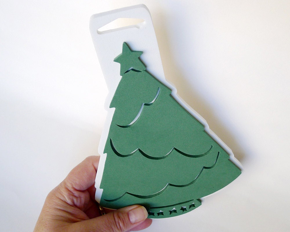 Free Shipping Christmas Tree Craft Stamp Foam Stamp Christmas