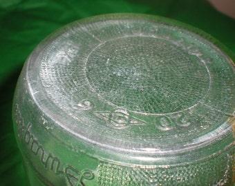 REDUCED! Duraglas jar,vintage jar,glass,glass jar