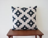 "Decorative Pillow Cover, Cushion Cover, Scandinavian Pillow, 18""x 18"" Decorative Pillow, Geometric Cushion, Tribal Cushion 317"