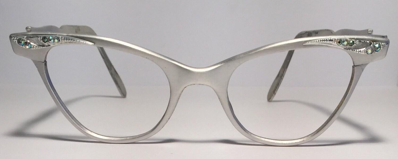 vintage eyewear cat eye shape liberty frame made in usa