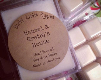 Hansel & Gretel's House Soy Wax Tarts- Wax Melts