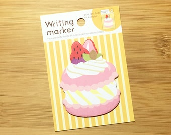 Macaroon Sticky Notes (20 Sheets x 1 pc) Korean Stationery Cute Post It Memo Pad N0119