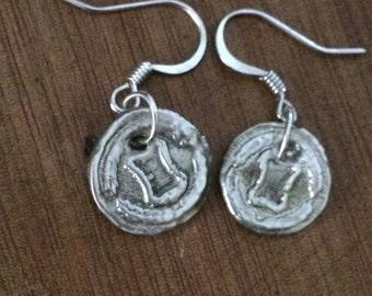 Earrings Silver Clay 999