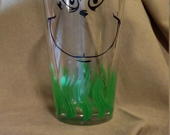 Grinch Glass 16 oz