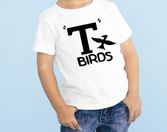 Grease T Birds Newborn Bodysuit Outfit Trendy Tshirts Funny Grease The Musical Sock Hop Outfit