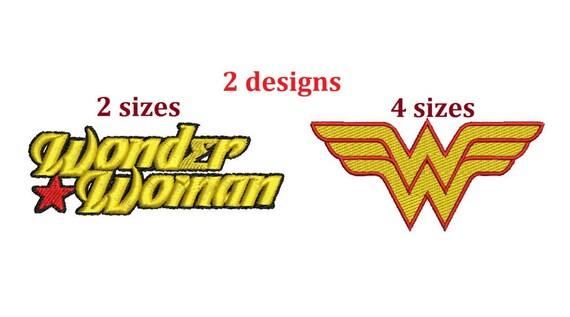 Wonder Woman Machine Embroidery Designs