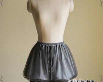 Gothic Lolita Puffy Double-Layer Basic Short Bloomers