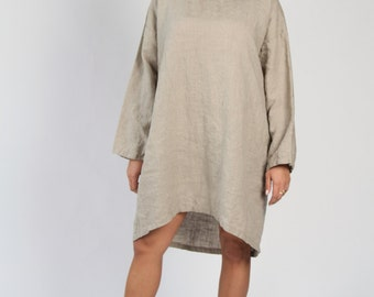 Summer Sale 20% off - Linen Tunic / Line Beach Dress - more colours
