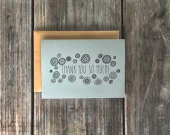 Baby Shower Thank You Cards, Baby Shower Thanks, Baby Shower Card Set
