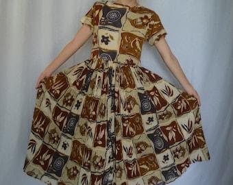 Earth Goddess Flowy Dress