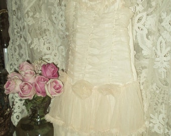 Jeanne d'Arc Living Petite Princess French Light Apricot Tulle Dress One size 6, Child