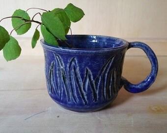 Grass Blade Teacup