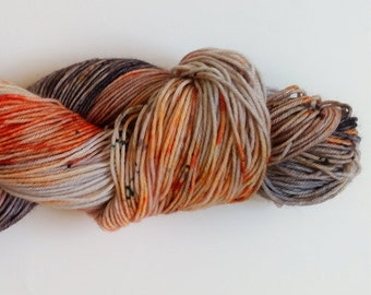 Skogkatt - speckled sock yarn - dyed to order - choose your base yarn!