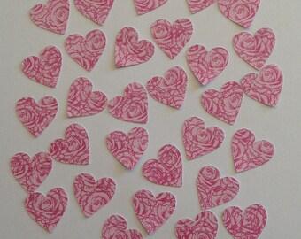 35 Rose Hearts