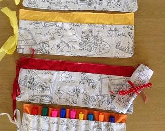 Color Me Marker Roll- Construction