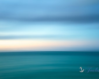 Limited Edition ~ Caribbean Abstract ~ Grace Bay, Turks and Caicos,Fine Art Canvas, Artwork, Tropical, Seascape,Coastal,Fine Art Photography