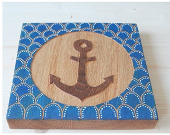Wood relief anchor