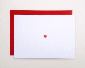 "heart - anniversary valentine card - (5.82"" x 4.13"")"